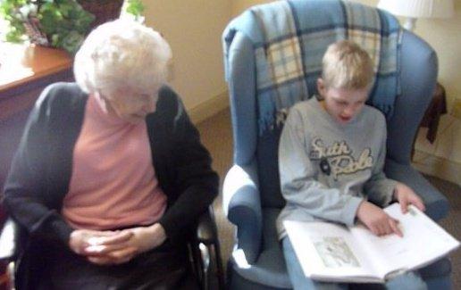 Jarrod and Grandma 2010