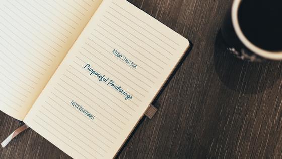 Purposeful Ponderings Blog Title